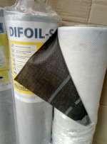 Пленка Ветроизоляционная СУПЕРДИФУЗИЯ Difoil-S мембрана 90 плотн (75 м2)