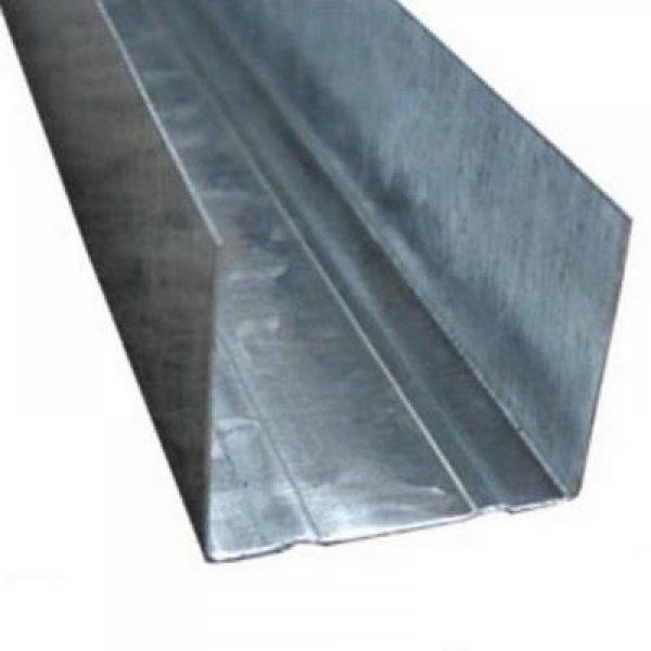 """Профиль металлический для г/к """"UW 75"""" 75*40мм L= 4м (0,5мм)"""