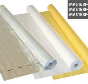 Пленка гидроизоляционная серебро (75 кв.м) пл.90 г / м2 Masterfol Foil S MP