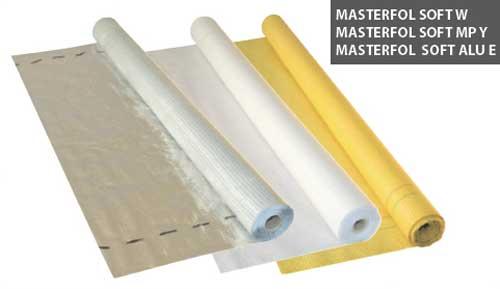 Пленка пароизоляционная белая 110 (75 кв.м) Masterfol Soft MP Y
