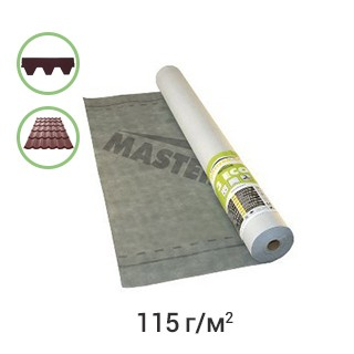 Пленка пидпокр.мембрана MASTERMAX 3 ECO супердиф.75м2