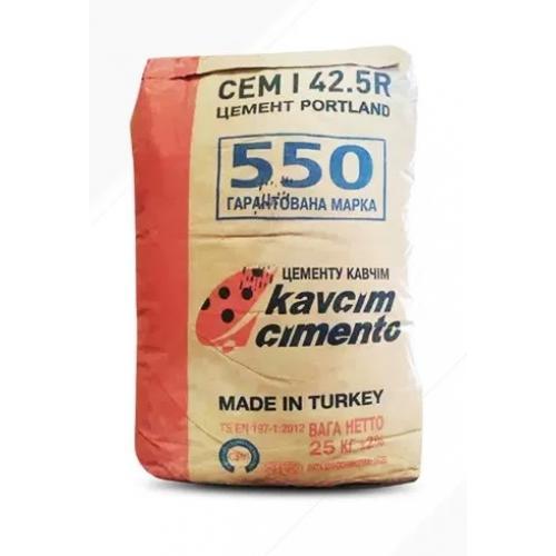 Цемент ПЦ М 500 Д20, 25кг (Турция)
