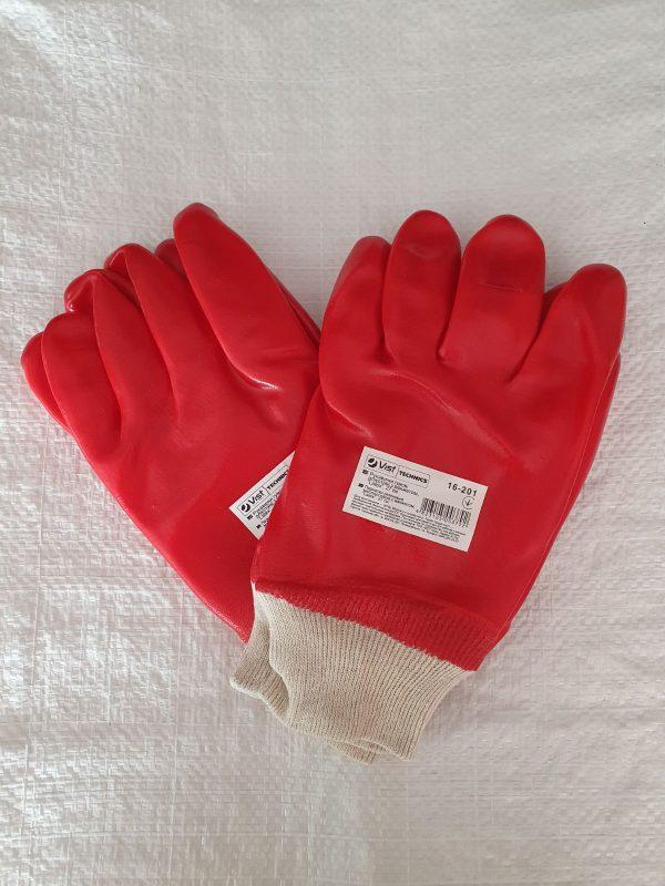 Перчатки резиновые олиестийки 27см¶16-201