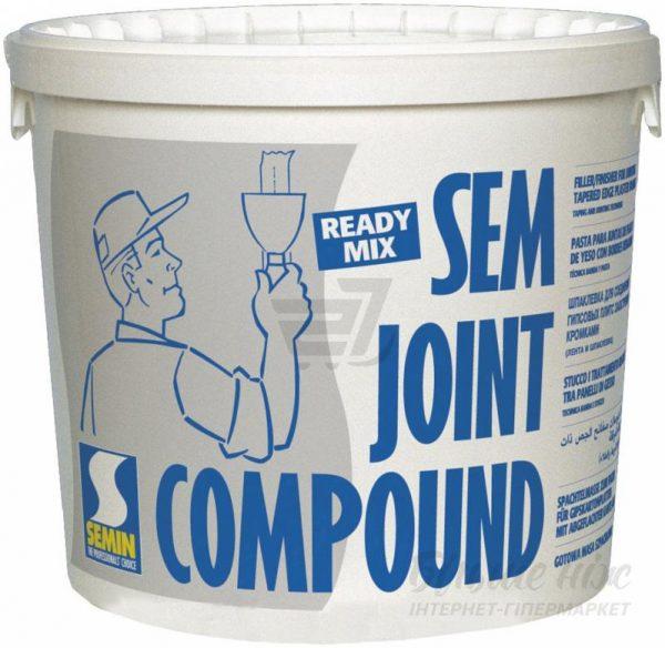 Шпаклівка готова SEMIN Sem Joint Compound 25 кг