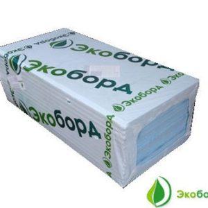 Экструдированный пенополистирол экоборд 600х1200х20мм