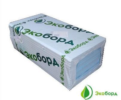 Экструдированный пенополистирол экоборд 600х1200х40мм
