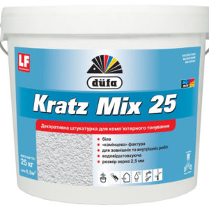 Штукатурка KRATZ Mix15 25кг