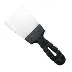 Шпательная лопатка с пластмассовой ручкой, 100мм