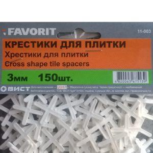 Крестики для кафеля 3 мм (150шт)