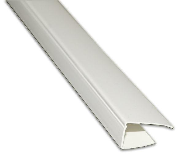 Профиль пластиковий П-стартовий білий 10мм, 3м