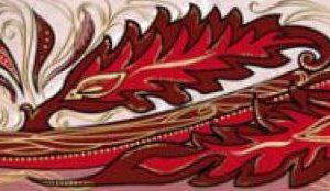 Фриз Александрия розовый 200 * 60 (В15411) 1 сорт¶