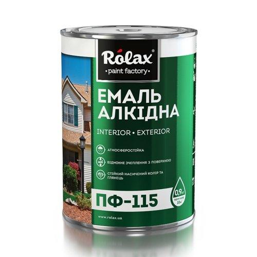 Эмаль ПФ-115К салатовая, 2,8 кг, Ролакс
