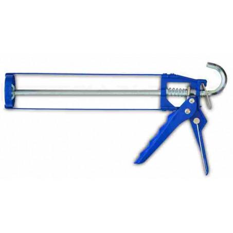 Пистолет для герметика скелетный, металлический, усиленный
