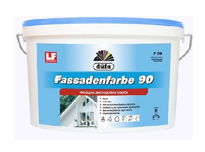 Краска фасадная DUFA FASSADENFARBE (10л, 14кг)