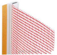 ПВХ профиль оконный с манжетой и сеткой (6мм) 2,5м