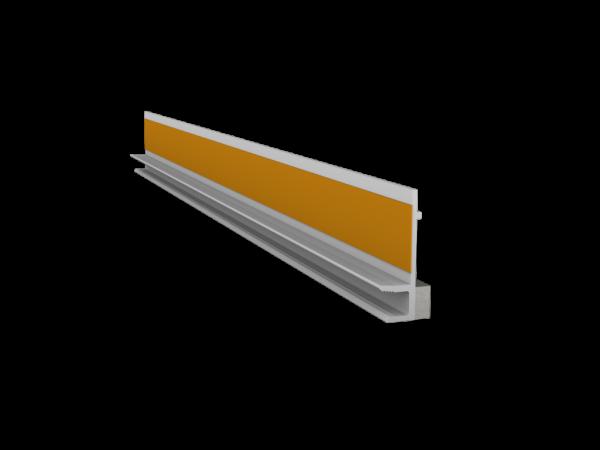 ПВХ профиль оконный без сетки(6мм) 2,4м
