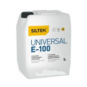 Е-100 Siltek Universal  грунтовка универсальная, 5л