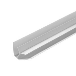 Угол внутренний пластиковый белый 8 мм, 6м