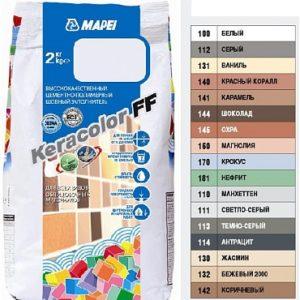 Затирка для швов Mapei Keracolor FF144 шоколад (2кг)