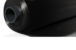 Пленка полиэтиленовая 3000х100 (50м/п) черная