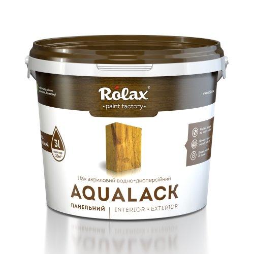 Лак акриловый водоразбавимый «Аквалак» Premium, шелковисто-глянцевый, 3 л.