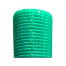 Сетка з скловолокна штукатурна фасадна ЗЕЛНЕНА (5 х 5) 1м х 50м.п., 145гр/м2