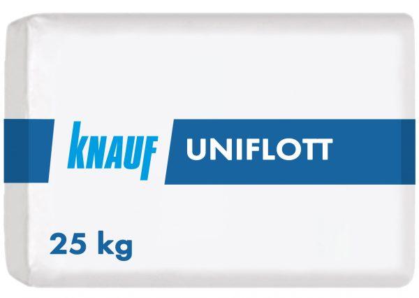 ШПАКЛЕВКА ДЛЯ ШВОВ ГКЛ KNAUF UNIFLOTT 1-5 ММ, 25 КГ