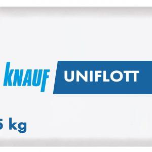 KNAUF UNIFLOT, ШПАКЛЕВКА ДЛЯ ШВОВ ГКЛ 1-5 ММ, 5 КГ