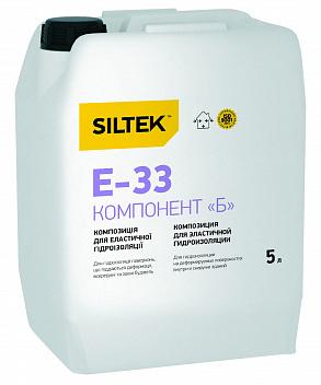 Е-33 Смесь для эласт. гидроизол. комп.Б (5л)¶