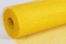 Сетка ф. Желтая 1м х 50м.п., 160гр/м2