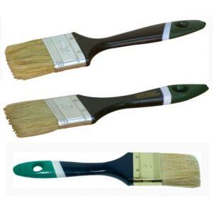 "Кисточка флейцевая, тип ""Английский 3"", пластиковая ручка"