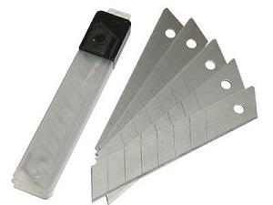 Лезвия для ножей, 18 мм (10 шт)