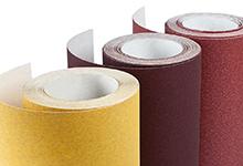 Бумага наждачная на бумажной осн,115мм  х 50м, зерно 80 Klingspor