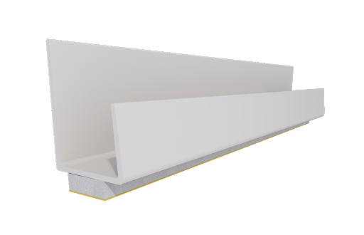 Профиль оконный(12.5) 2,5м белый