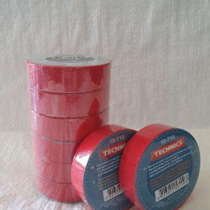 Изолента ПВХ червона 19 мм х 20 м