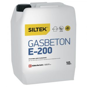 Грунтовка Е-200 для газоблоков