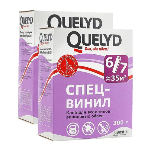 Клей обойный Quelyd винил, 0,3кг