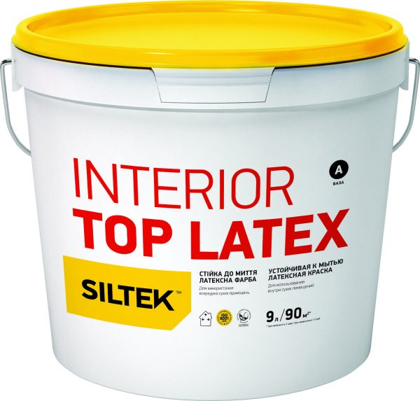 SILTEK INTERIOR TOP LATEX (База А), 9л